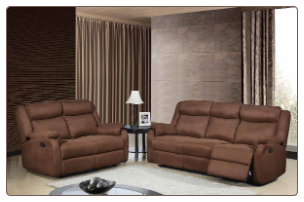 Global Furniture USA U8303 Motion Living Room in Chocolate