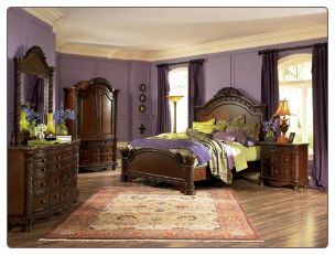 North Shore - King Panel Bedroom Set Signature Design by Ashley Furniture