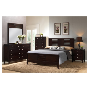 Global Furniture USA Lily Panel Bedroom Collection
