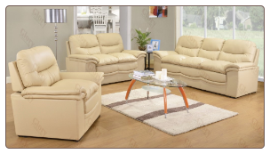 G187  Living Room Set  - GloryFurniture CREAM