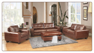 Glory G200-- Living Room Set- Brown