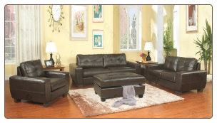 Glory G200-- Living Room Set- Cappuccino