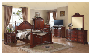 Traditional Complete Queen Bedroom Set