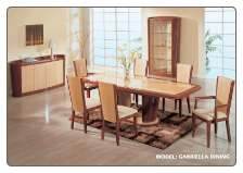 "Dining Room Set ""GABRIELA"" By Global Furniture"