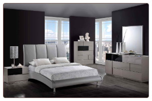 Global Furniture USA Bianca Sleigh Bedroom SET Collection
