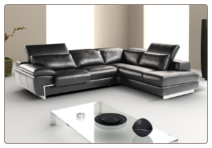 OREGON II -   ITALIAN LEATHER SECTIONAL BY J&M FURNITURE USA
