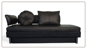 Nubo Leather Sofa Bed