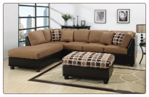 POUNDEX 3 PCS SECTIONAL F7402
