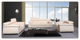 Paris Sofa Living Room Set  by J&M Furniture