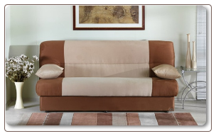 Regata Sofa Bed beige And Brown