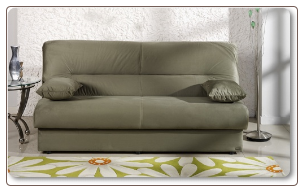 Regata Sofa Bed Rainbow Sage.