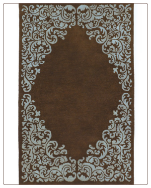Signature Design Floor Coverings Lorraine-Brown Blue