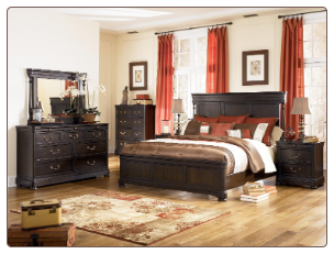 Kelling Grove Poster Panel Bedroom Set by Signature Design