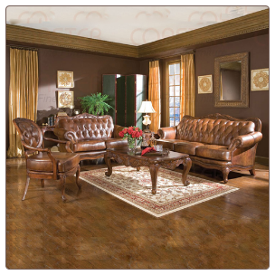 Leather Living Room Set, from Havana Collection by Coaster Furniture