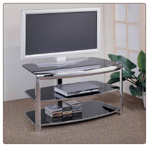 TV Stand 720033 Chrome by Coaster