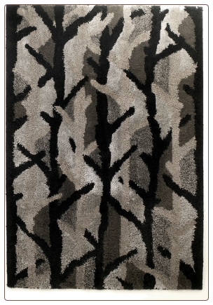 Ashley Signature Design Winter Woods Ebony Area Rug