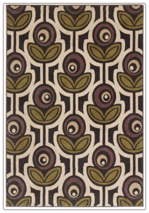 Signature Design by Ashley - Area Rug w Thistle Pattern