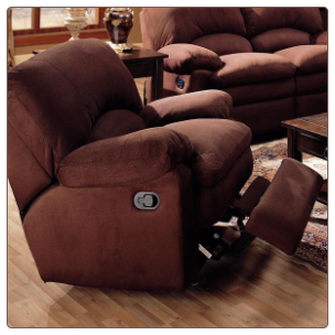 Owen Microfiber Rocker Recliner by Coaster Fine Furniture