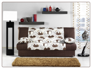 Regata Sofa Bed in Ceres Cream - Sunset Furniture-Istikbal