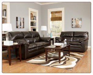Robinsway Durablend Java Living Room Set  by Ashley Millennium