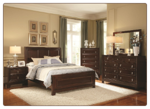 Nortin Collection Panel  Bedroom Set