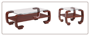 "Coffee Table  Set  ""728"" By Global Furnither USA"
