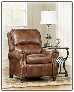 DuraBlend Canyon - Low Leg Recliner Signature Design by Ashley Furniture