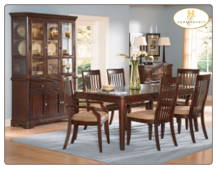 Laurel Heights Collection - Dining Room Set (Cherry)