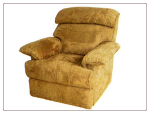 Charlotte Microfiber Fabric Recliner Chair