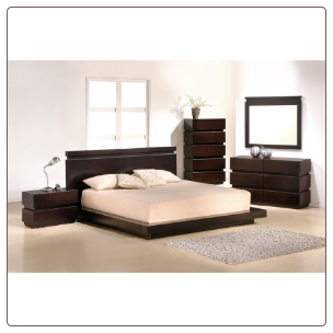Knotch Bedroom Set by J&M Furniture USA