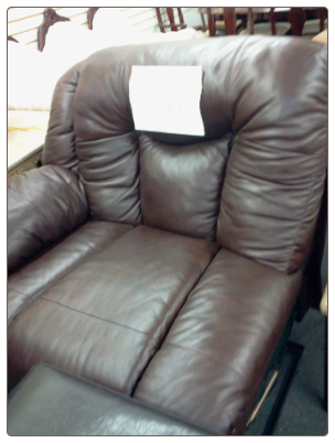 FLOOR SAMPLE ROCKER RECLINER