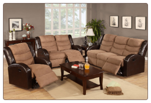 Reclining Living room set  PXSS0F6661/2/3