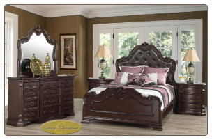 6 PCS  Kimberly Cosmos - Bedroom  Set - Furniture